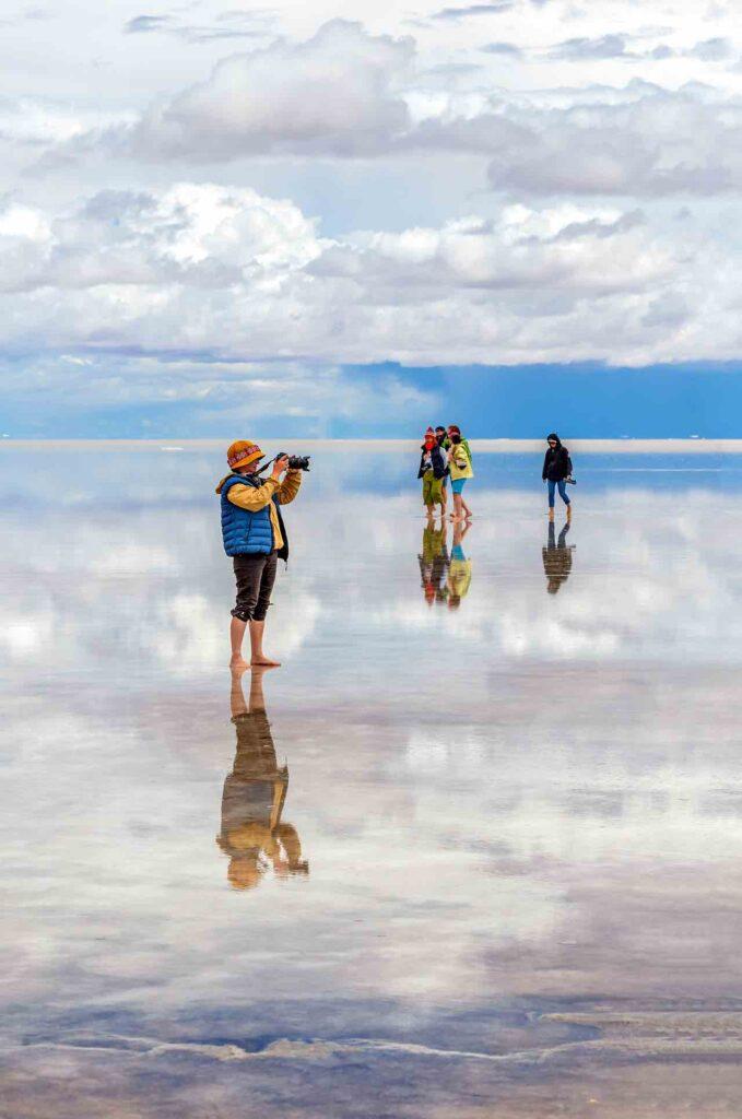 Bolivia - Lago salato