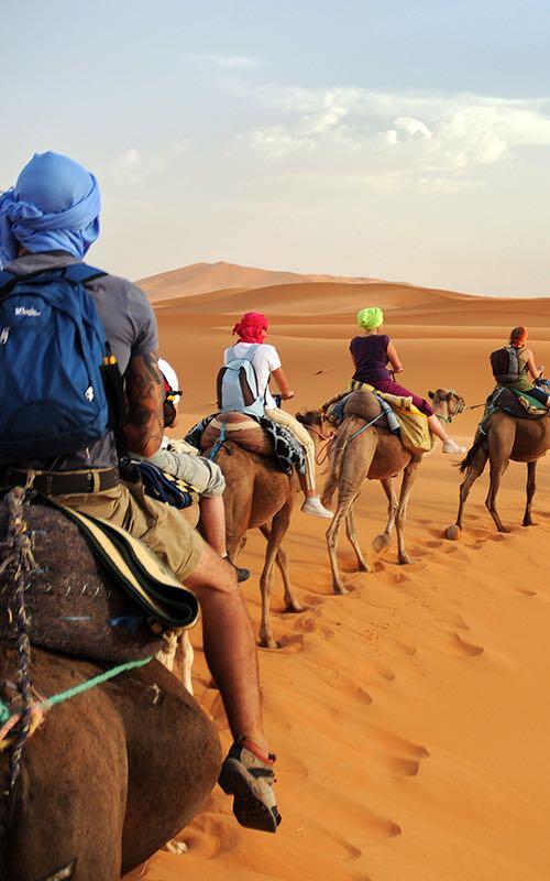 Deserto del Merzouga - Marocco