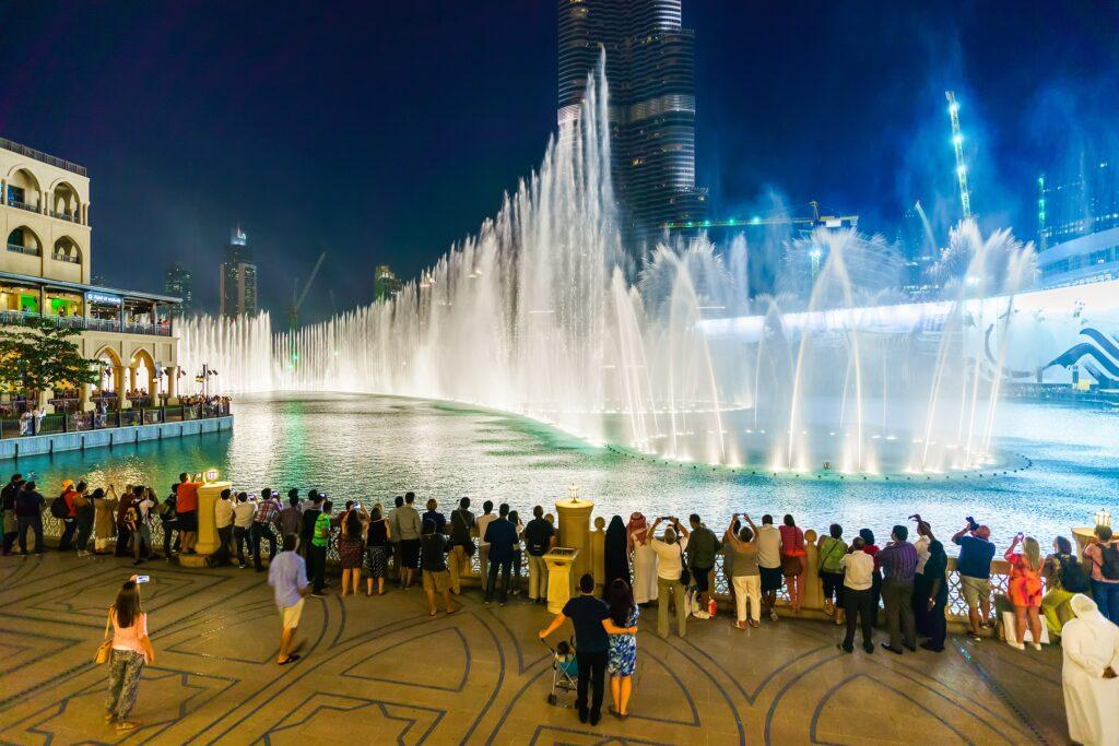 Dubai Fontane danzanti