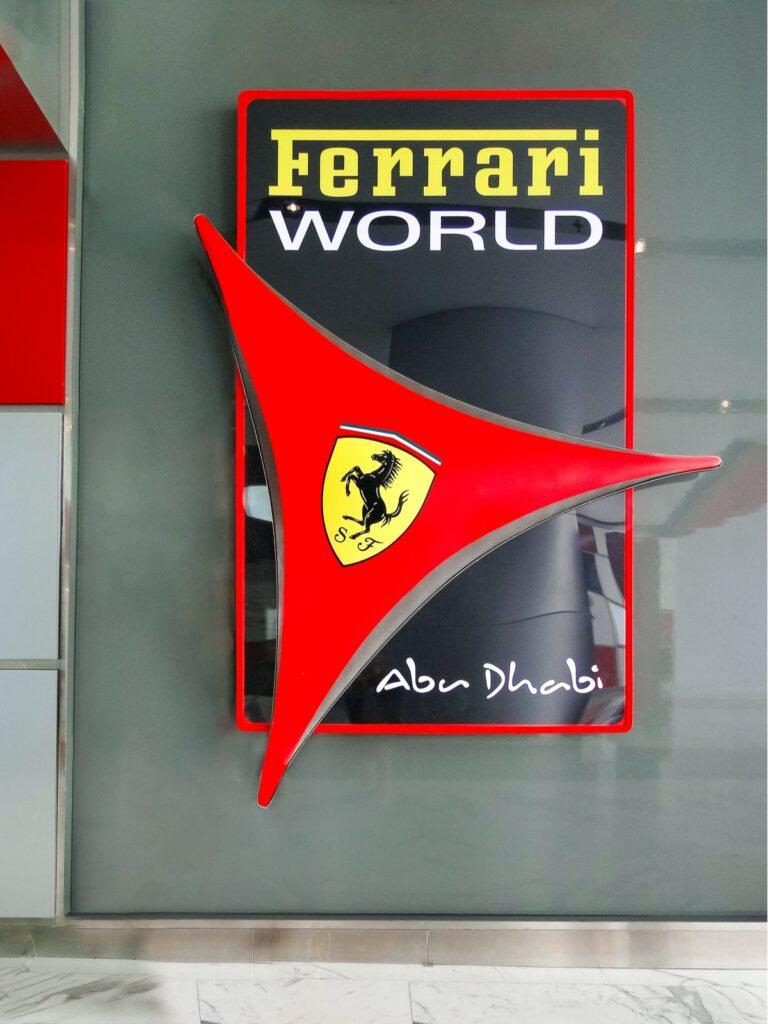 "ll ""made in Italy"" nel mondo: il Ferrari World ad Abu Dhabi"