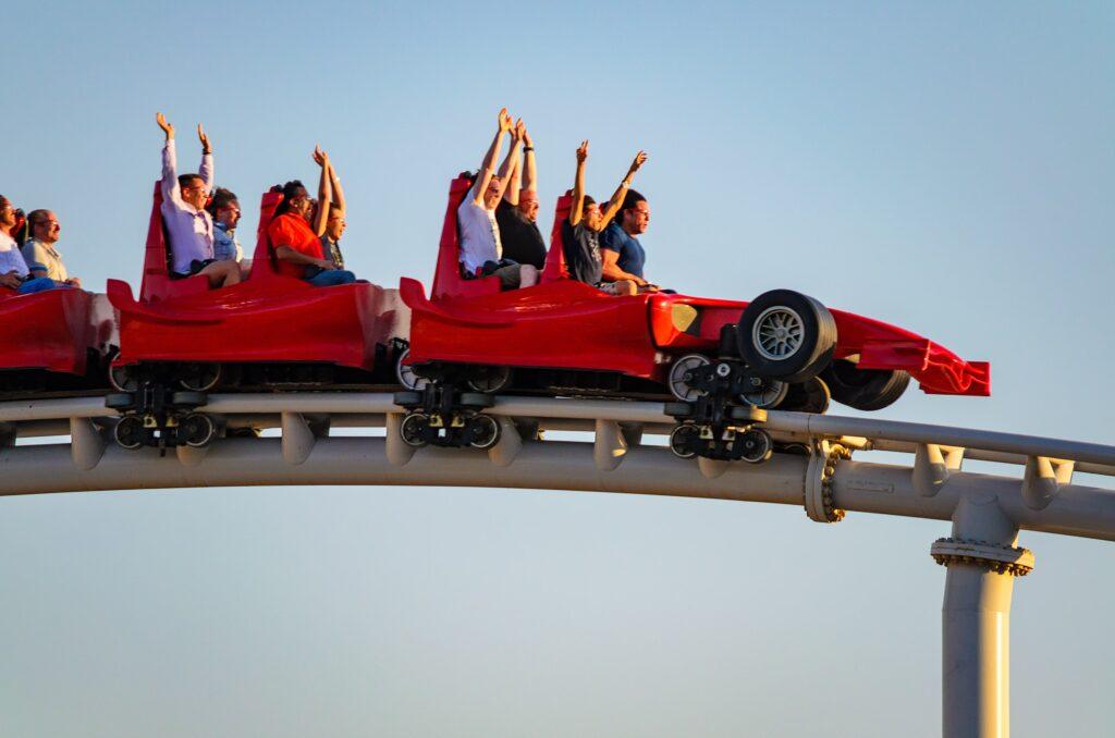 Ferrari World Abu Dhabi - Rollercoaster Formula rossa
