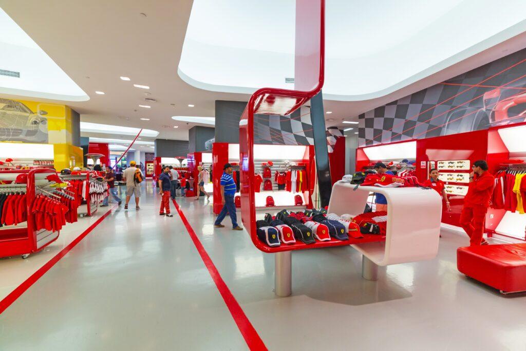 Ferrari World Abu Dhabi - Store